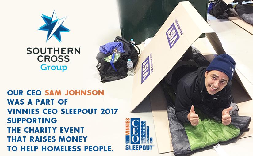 Southern Cross Group CEO Sam Johnson - CEO Sleepout 2017