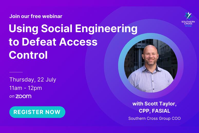 Webinar on Using Social Engineering