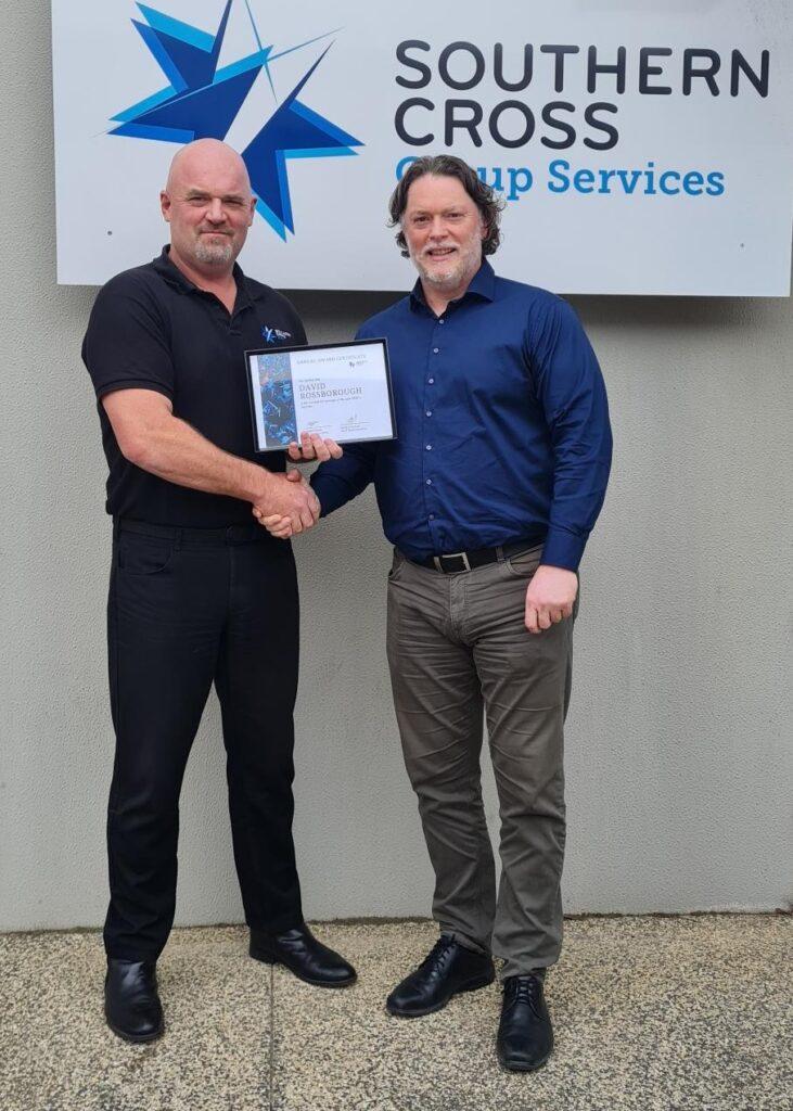 Security Services award